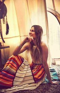 Free People NWT Size Small Mardi Gras Knit Maxi Dress NEW
