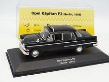 Ixo Presse 1/43 - Opel Kapitan PII Taxi Berlin 1959