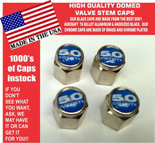 Chrome Ford 5.0 Blue Coyote Mustang Cobra Shelby GT Valve Stem Caps - The Best