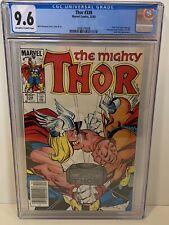 Thor #338 (1983) Key 2nd Appearance Beta Ray Bill Marvel CGC 9.6