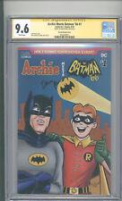 """ARCHIE MEETS  BATMAN 66   #1  CGC 9.6 SS """" SIGNED BY DAN PARENT """""""