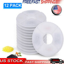 Cat Water Fountain Filters Replacement Filters for Water Dispenser 12Pcs O4K3