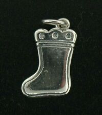 Retired James Avery Christmas Stocking Sterling Silver Charm - NO RESERVE