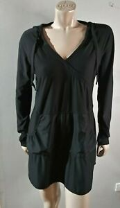 Athleta Hooded Wick It Wader Cover Up Tunic Size L