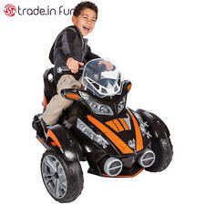 Star Wars 6V Battery Electric Ride-On Motorcycle Toy Kids Rider Motorized Gift