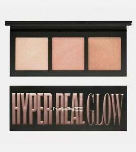 MAC Hyper Real Glow Highlighter Palette Full Size Flash + Awe NIB AUTHENTIC