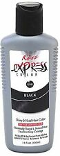 KISS Express Semi-Permanent Hair Color, Black [K98] 3.50 oz