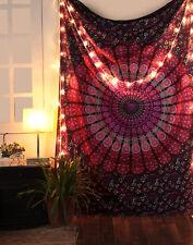 Indian Bohemian Mandala Twin Wall Hanging Wall Decor Lavender Halloween Tapestry