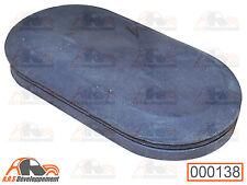 OBTURATEUR NEUF (RUBBER) pour plancher pédale accélération de Citroen 2CV  -138-