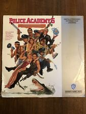 RARE OOP POLICE ACADEMY 5 ASSIGNMENT MIAMI BEACH LASERDISC! 1988 COMEDY EXTENDED