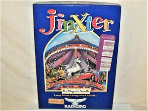 Commodore 64/128 PC Computer Game JINXTER Magnetic Scrolls Rainbird Complete Box
