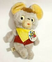 Hanna-Barbera Pixie and Dixie's Pixie  rare 1950s~1960s plush toy  with tag