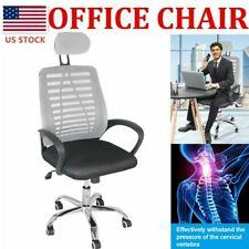 Ergonomic Mesh Office Chair High Back Swivel Mesh Chair Computer Desk Task Us