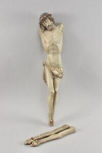 k48h16- Corpus Christi Holz geschnitzt & gefasst 19.Jh