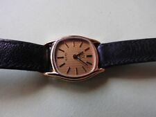 Vintage 1985 reloj de mujer de cuarzo OMEGA DEVILLE cóctel 1387 Cal