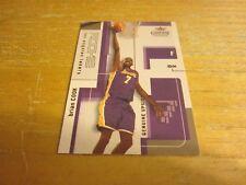 Brian Cook 2003-04 Fleer Genuine Insider #126 #'d 752/799 Card NBA Lakers