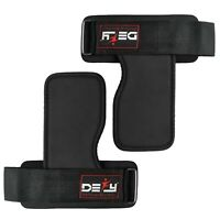 DEFY Gym Weight Lifting Straps Power Training Grip Workout Wrist Wraps Gloves