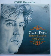 GERRY FORD - Someone To Give My Love To - Ex Con LP Record Emerald Gem GES 5006