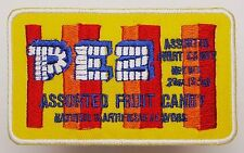 PEZ CANDY - Collectable Embroidered Iron-On Patch for Jackets, Bags, Cases - NEW