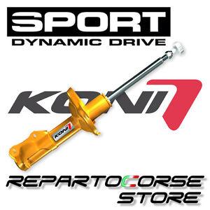 4 Sports Dampers Koni Sport Yellow Adjustable Volkswagen polo V 1.4