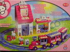 stazione hello kitty costruzioni train station building bricks blocks set 8652