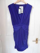 NEW 70s Glam River Island Purple Dress Size UK 8 EU 34 RRP £40! *NEW*