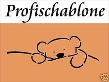 Schablone, Wandschablone, Deko, Malerschablone, Stencil - Bärenschablone 66x28cm