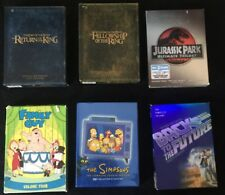 Lord Of The Rings, Back To The Future, Simpsons, Jurassic Park & Family Guy Dvd