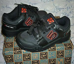 NEW Size 5-6  Five Ten adidas LEATHER Mountain Bike Impact Sam Hill Shoe trainer