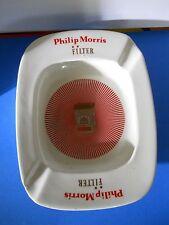CERAMIC VINTAGE ASHTRAY PHILIP MORRIS ARIBA MADE IN FINDLAND