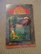 Vtg Disney Lion King Simba Timon Pumbaa Easel Back Decorel Picture Photo Frame