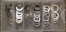 Oil Drain Plug Gaskets Aluminum Washer Assortment Kit