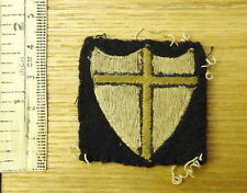 Original Military WW2 British Troops In Austria 8th Army Cloth Badge (4247)