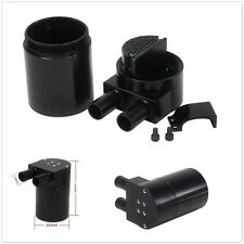 Black Metal RACING Aluminum Alloy Reservior Oil Catch Can Tank for BMW N54 335