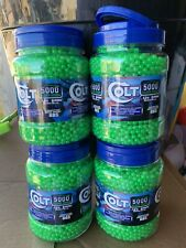 Colt Ultrasonic .12g 6mm Competition Grade Airsoft BBs - Lot of 20,000 Brand New