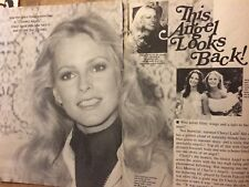 Cheryl Ladd, Charlie's Angels, Three Page Vintage Clipping