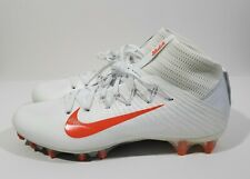 Nike Vapor Untouchable 2 Mens Football Cleats White Orange Size 11