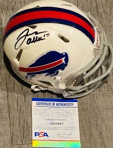 Josh Allen Signed Buffalo Bills Mini Helmet NFL PSA DNA Certified Autograph