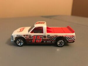 Hot Wheels Chevy 1500 White 2011 Track Stars All Small Wheels