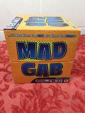 Mad Gab Party Game - Mattel Games 2005 100% Complete