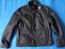 Barbour International Inlet Wax Jacket Wachs Biker Jacke schwarz M NP279€