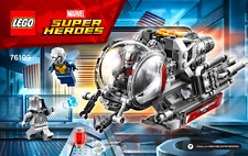 LEGO Instructions ONLY From 76109 Ant-Man and the Wasp Quantum Realm Explorers