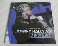 CD SINGLE 2 TITRES JOHNNY HALLYDAY LA LOI DU SILENCE NEUF