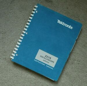 Tektronix 2215 Original Service Manual with all Schematic. Parts: 070-3826-00