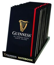 GUINNESS GIFT NOTEBOOK A5 LIVERY LINED MOLESKIN - OFFICIAL MERCHANDISE GIFT -