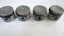 NOS MG-B Engine Pistons, set of 4 with rings, BMC B-engine 1.798CC STD-size