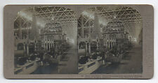 1904 St Louis World's Fair Stereo Card of Corn Palace Interior Exhibit (9)