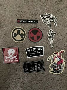 Magpul Authentic Sticker pack of 9