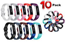 10 Pack Fitbit Alta HR Replacement Bracelet Watch Band Strap Heart Rate Fitness