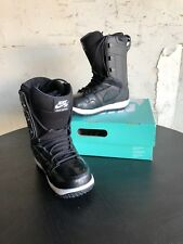 New Womens 7 NIKE VAPEN Black Snowboard Boots Shoes 447124-002